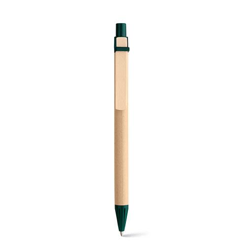 penna personalizzata eco verde scuro