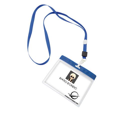 Lanyard Economy con portabadge personalizzabile - tuogadget.com