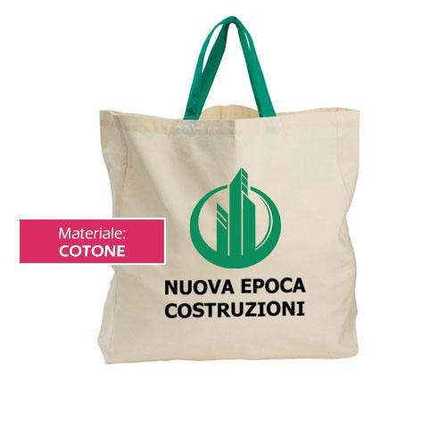 Borsa shopper Cotton XXL personalizzata Nuova Epoca