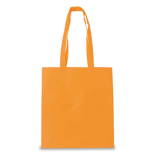 Borsa Cotton Color arancio