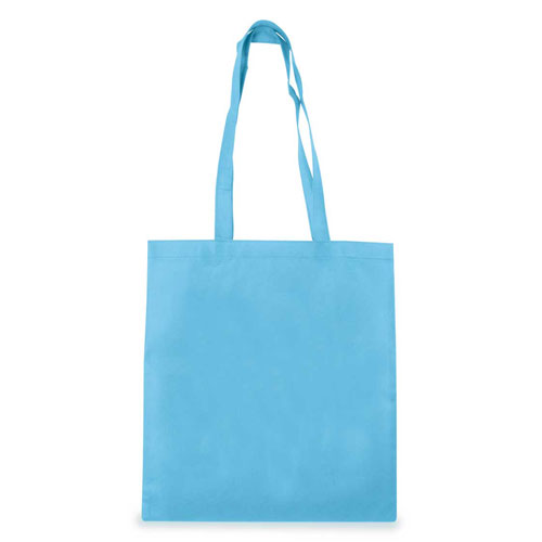 Borsa Cotton Color azzurro