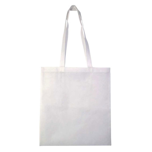 Borsa Cotton Color bianco