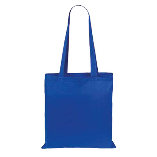 Borsa Cotton Color blu