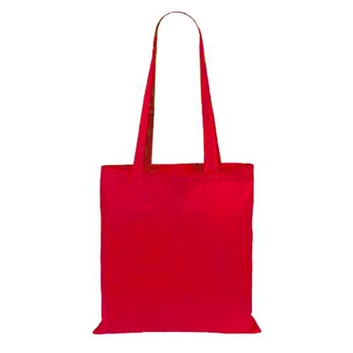 Borsa Cotton Color rosso