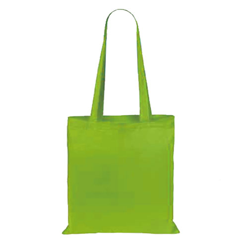 Borsa Cotton Color verde chiaro