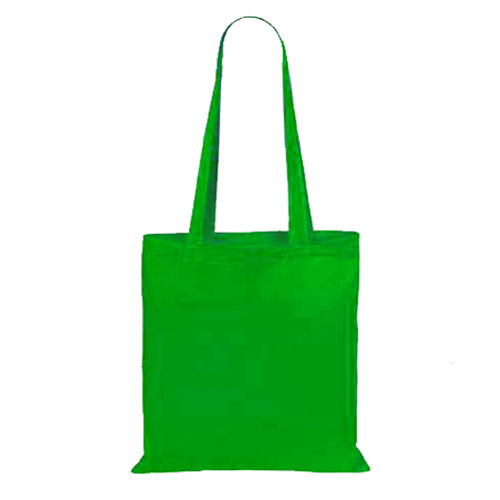 Borsa Cotton Color verde