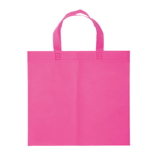 Borsa shopper Basic in TNT rosa
