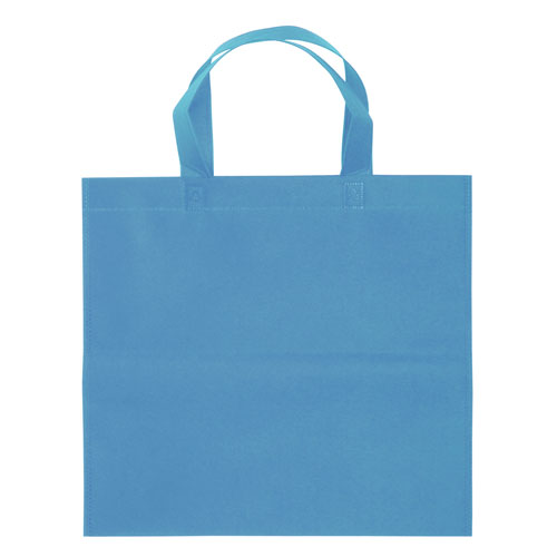 Borsa shopper Basic in TNT azzurra