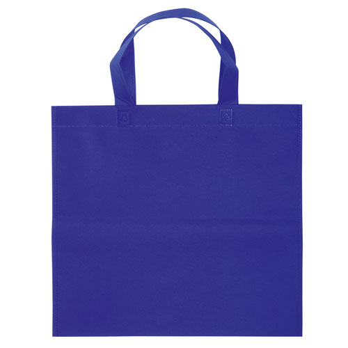 Borsa shopper Basic in TNT blu