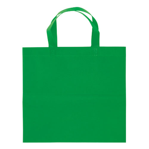 Borsa shopper Basic in TNT verde