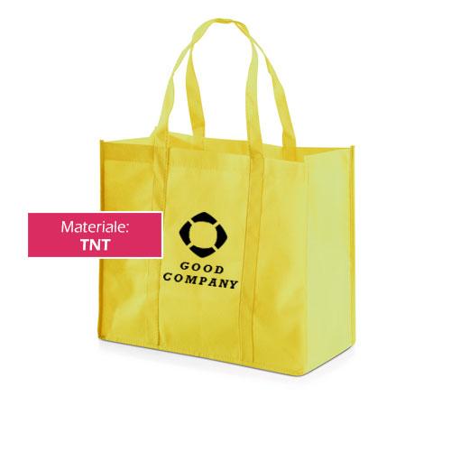 Borsa shopper Color XXL, in TNT con personalizzazione Good Company