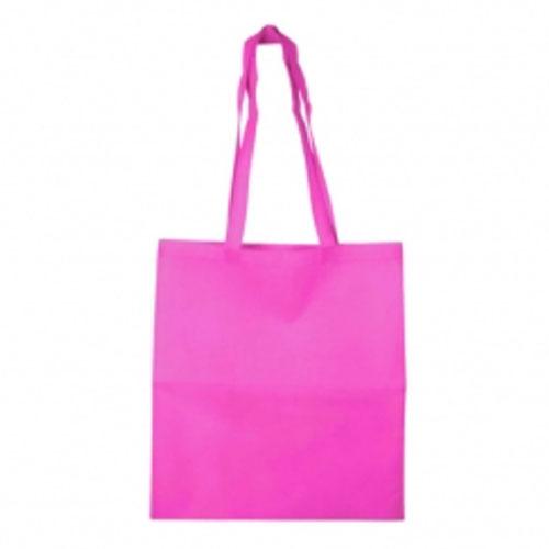 Borsa shopper in tnt color, colore fucsia