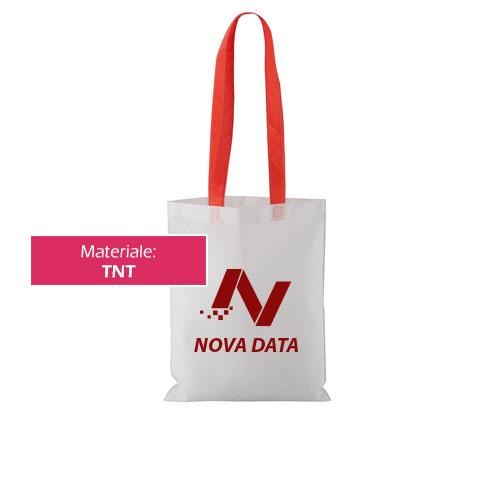 Borsa shopper Handle TNT con stampa personalizzata Novadata