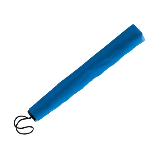 Ombrello pieghevole basic, colore blu