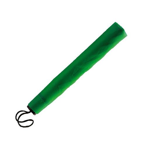 Ombrello pieghevole basic, colore verde