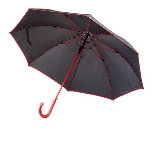 Ombrello blacky con struttura colorata e apertura automatica