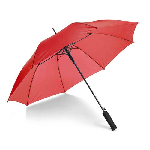 Ombrello Fiber, con apertura automatica, colore rosso