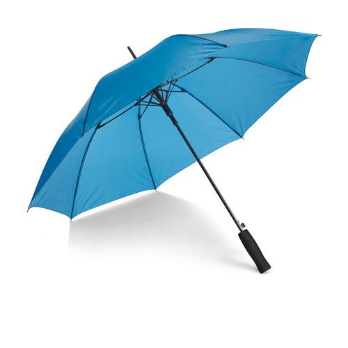 Ombrello in fiberglass Fiber, con apertura automatica, colore azzurro