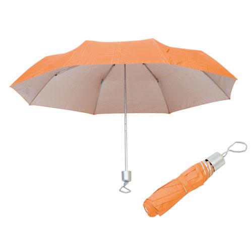 Ombrello richiudibile Silver, colore arancione