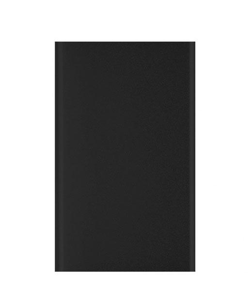 Power Bank Top, in alluminio, ultrapiatto, 4000 mAh, nero
