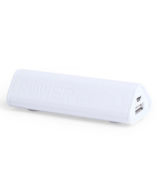 Power Bank con supporto, power bank Triangle, vista frontale