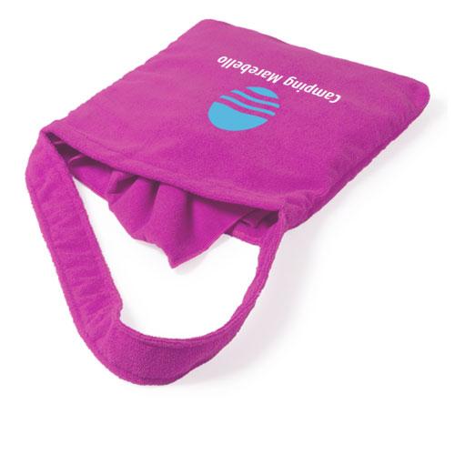 Borsa asciugamani in microfibra, personalizzata camping