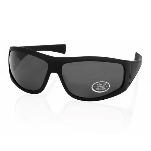 Occhili da sole neri - Total Black, personalizzabili