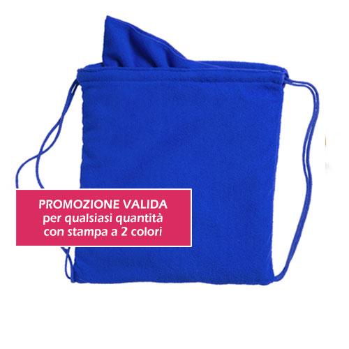 Zaino asciugamani personalizzato promozione sconto promo