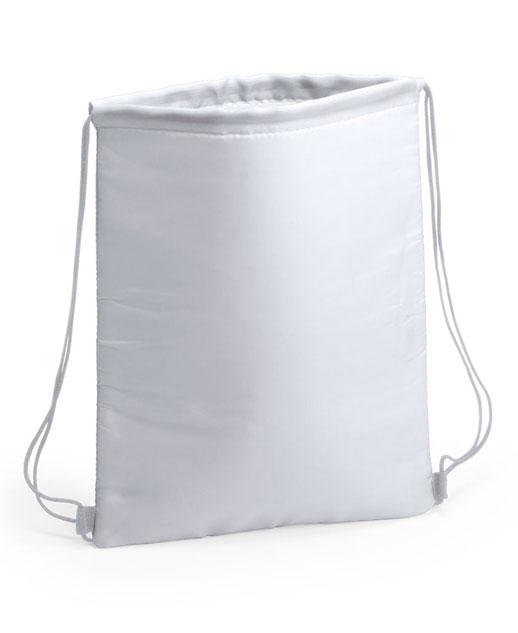 Zaino termico Freeze, possibilità di stampa, colore bianco