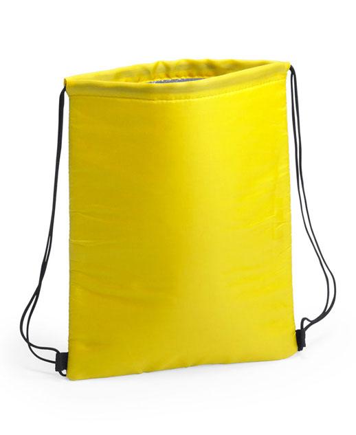 Zaino termico Freeze, possibilità di stampa, colore giallo