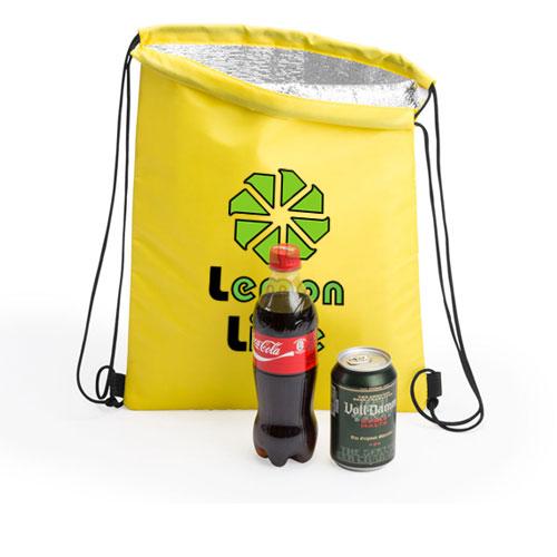 Zaino termico Freeze, personalizzato Lemon Lime su giallo