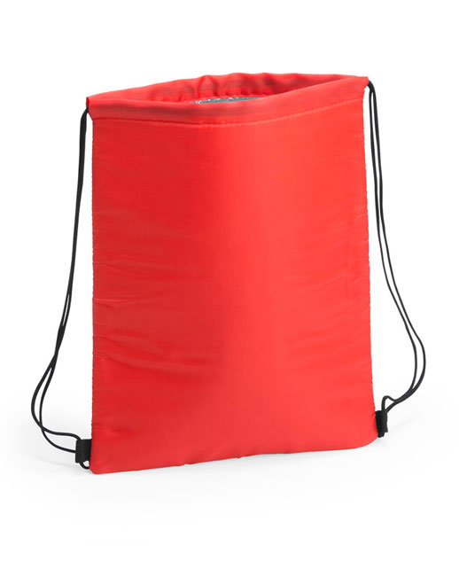 Zaino termico Freeze, possibilità di stampa, colore rosso