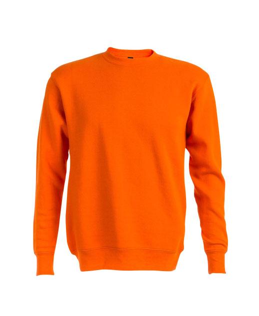 Felpa personalizzata unisex arancione