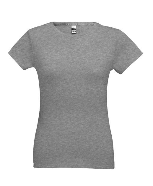 T-shirt da donna personalizzata, cotone 150 gr., colorata grigio