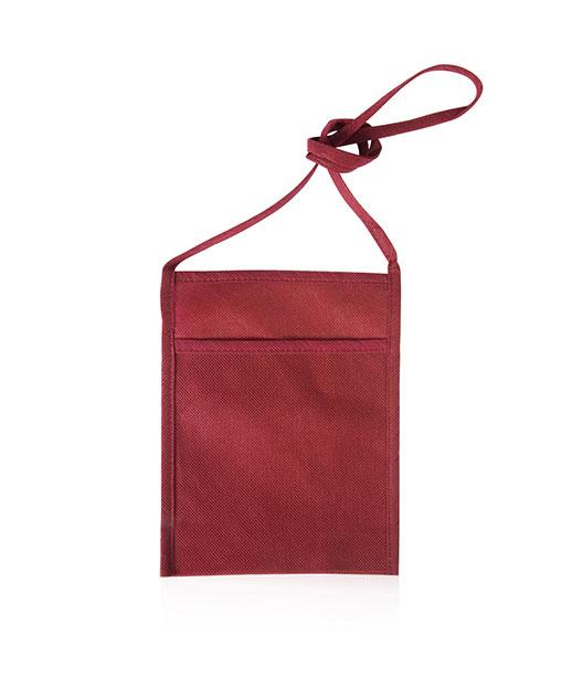 portacalice con tracolla personalizzato colore bordeaux