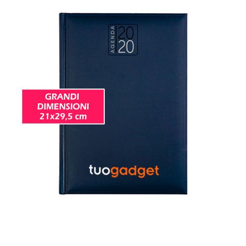 Agenda di grandi dimensioni Classic XL, agenda giornaliera anno 2020, colore blu dimensioni