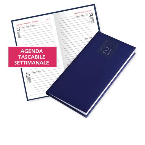 Agenda tascabile settimanale cover gruppo