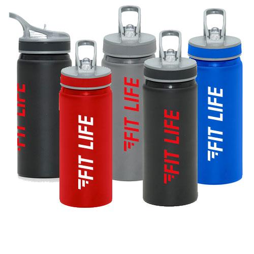Borraccia personalizzata sportiva in vari colori Run, personalizzata Fit Life