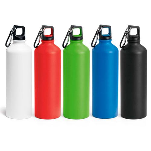 Borraccia personalizzata in alluminio, ecologica e leggera