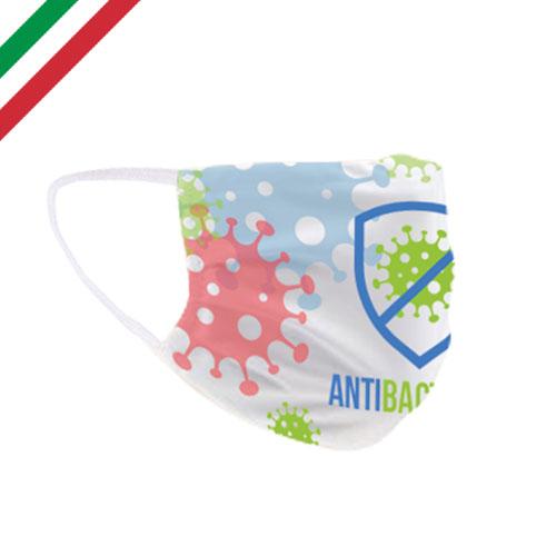 mascherine personalizzate safe antibatterica
