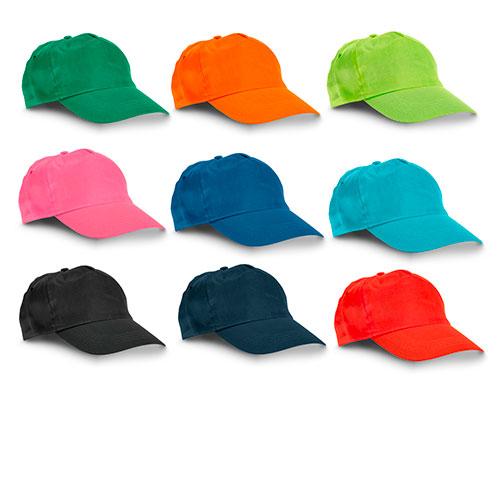 cappellino con visiera personalizzato colori