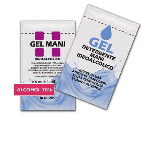 gel igienizzante mani 2,5 ml