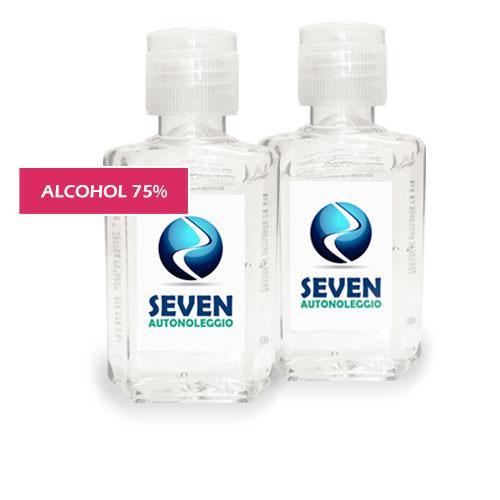 gel igienizzante personalizzato - gel igienizzante mani, 75 % alcohol - con stampa etichetta personalizzata