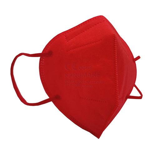 mascherina ffp2 colorata rosso