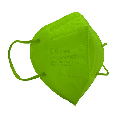 mascherina ffp2 colorata verde chiaro