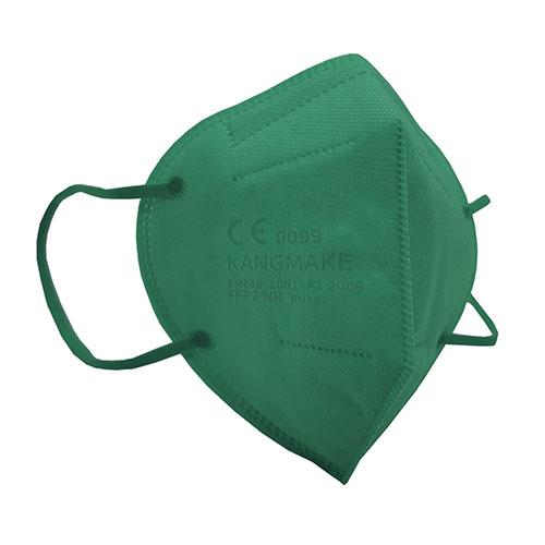 mascherina ffp2 colorata verde