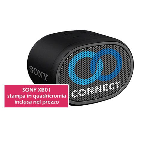speaker sony personalizzato xb01 cassa bluetooth da personalizzare con logo tuo gadget
