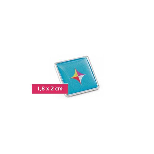 pin personalizzato con supporto personalizzabile con logo