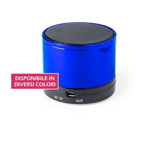 speaker wireless personalizzato basic color disponibile in diversi colori